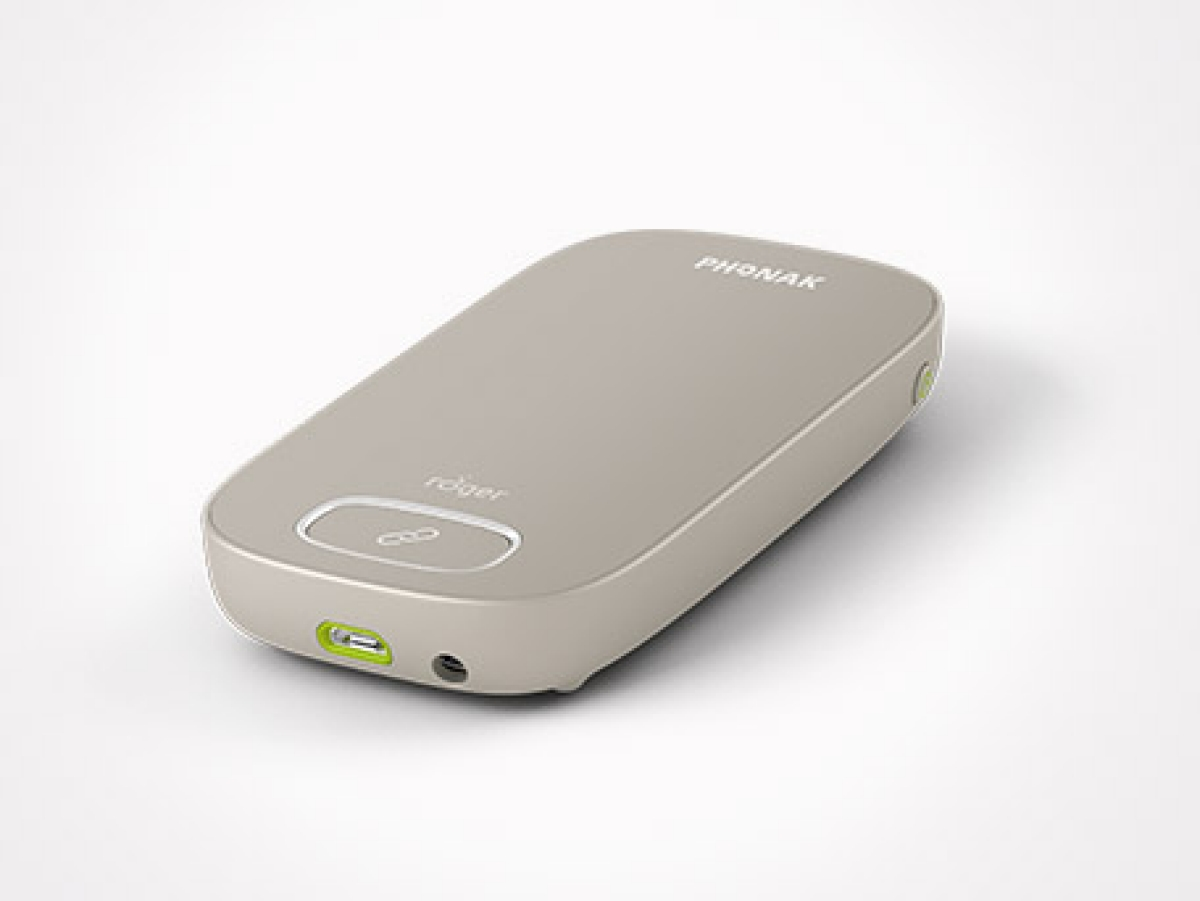 Roger Touchscreen Mic, hearing aid accessories | Phonak