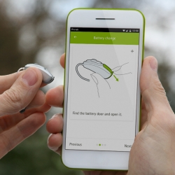 Phonak Support App phone image